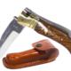 Laguiole de chasse bois palissandre incrusté